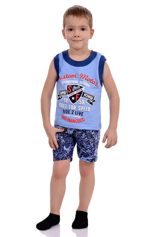 Майка+шорты для мальчика, кулир