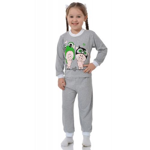 Детская пижама с принтом кулирка