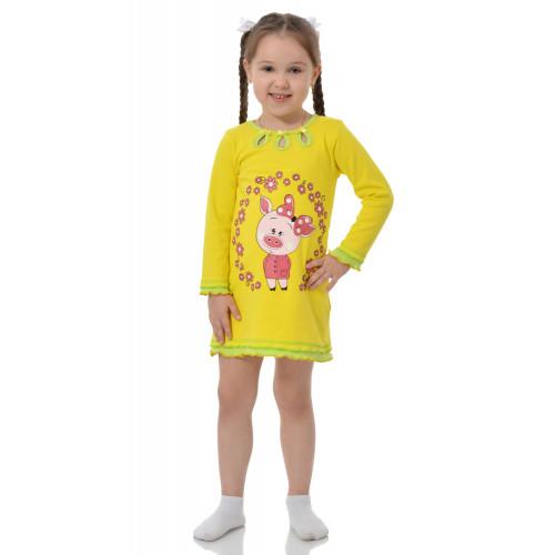 Сорочка для девочки интерлок Принт