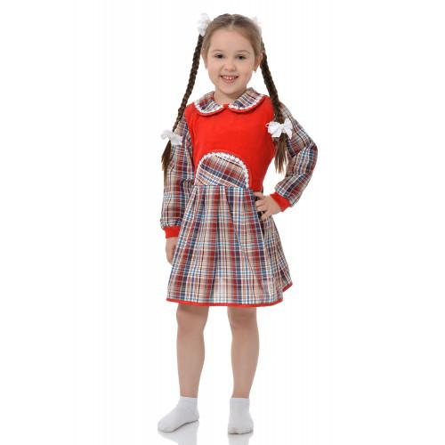 """Платье для девочки """"Красная грудка"""""""