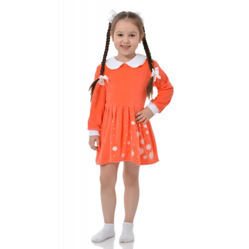 """Платье для девочки """"Куколка"""" велюр"""