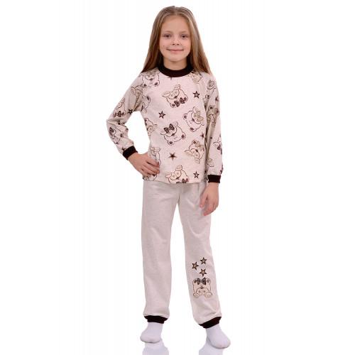 Детская пижама кулирка Мишки