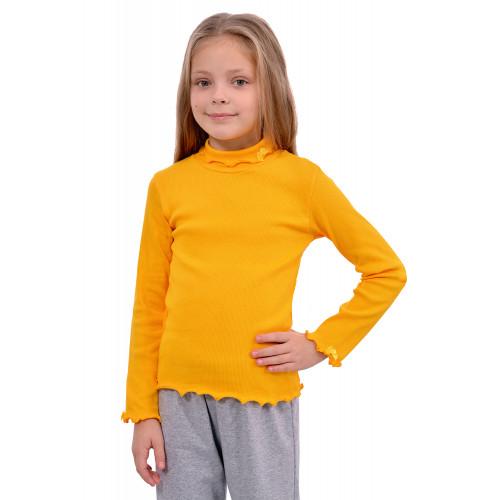 Детская водолазка для девочки рубчик