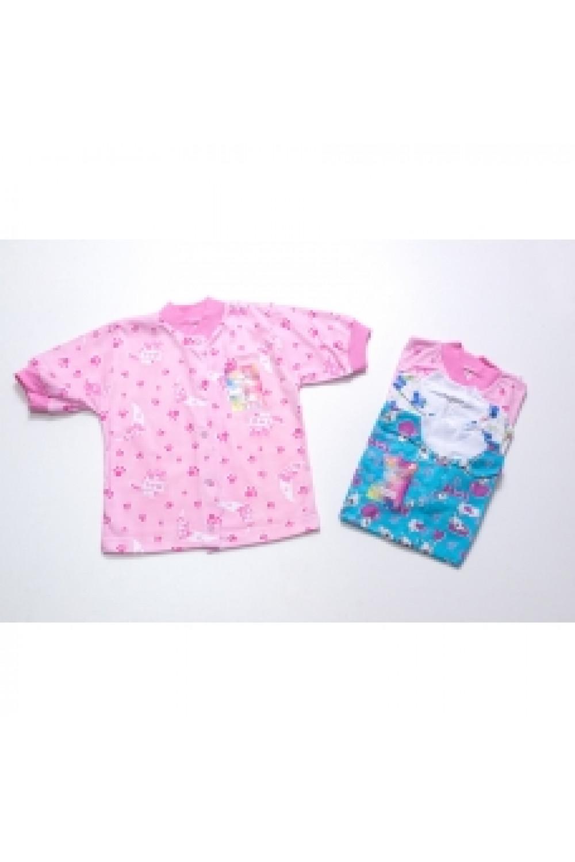 Кофта для новорожденного кулир короткий рукав