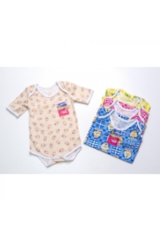 Боди для новорожденных кулирка короткий рукав