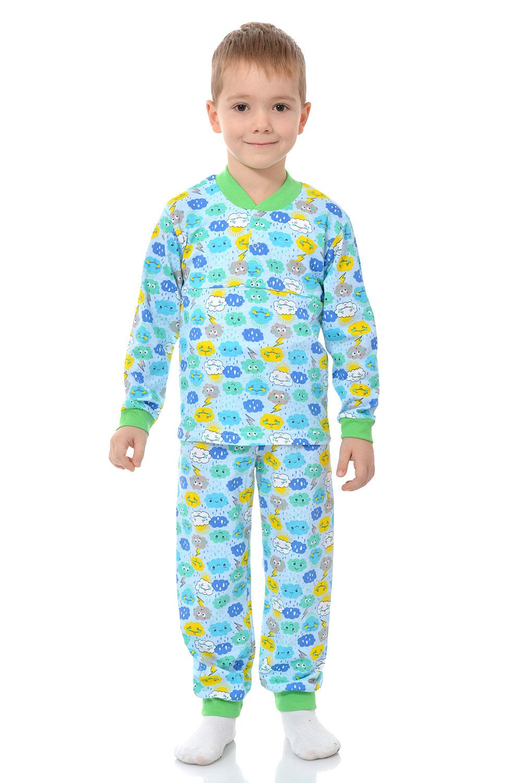 Детская пижама Кулир с клепками