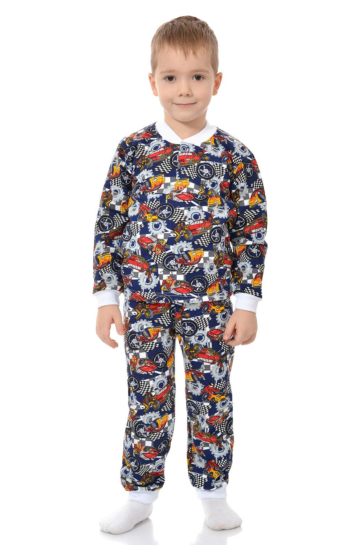 Детская пижама Кнопка футер