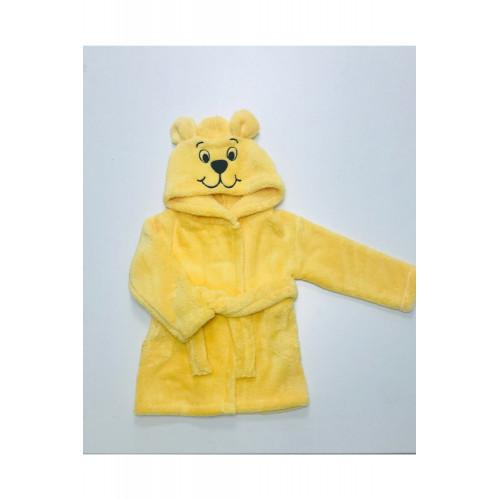 Детский халат велсофт Мишка