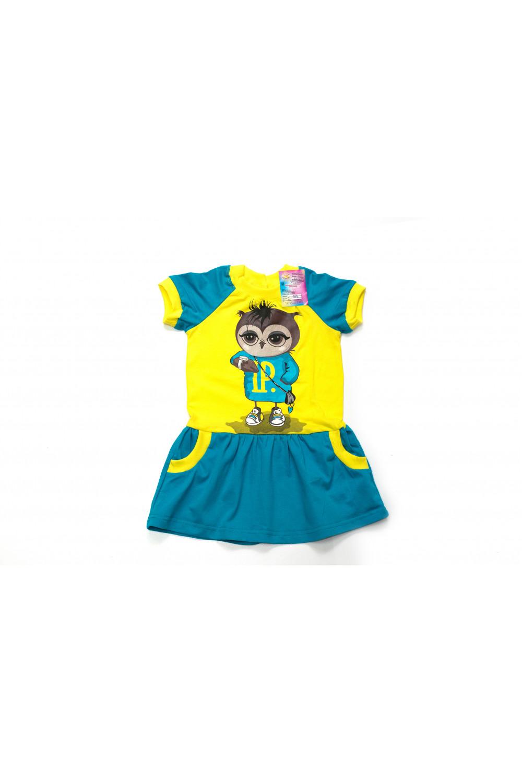 Платье для девочки Сова