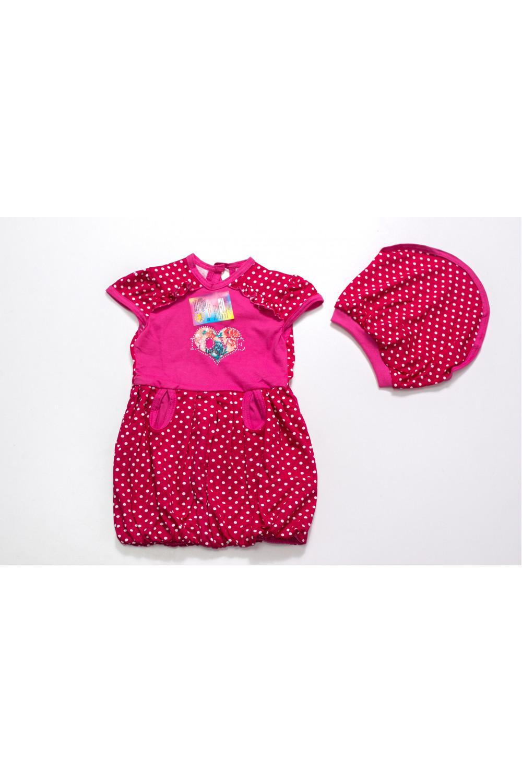 Детское платье Баллон+косынка
