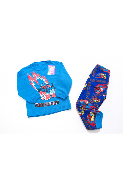 Детская пижама футер Машина