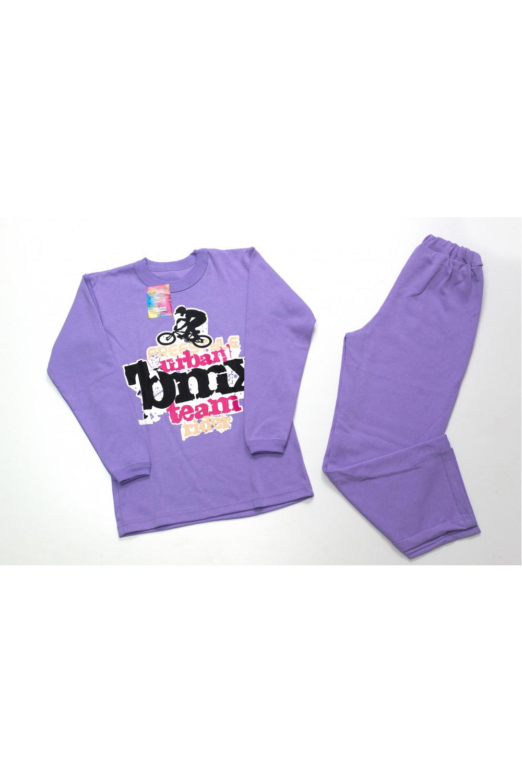 Пижама подростковая для мальчика интерлок