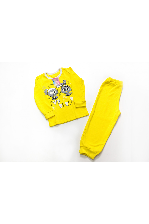 Детская пижама интерлок Зайчата