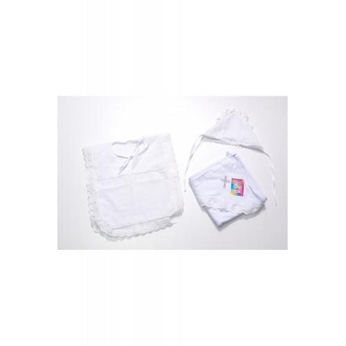 Крестильный набор с рубашечкой