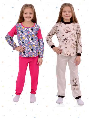 Трикотажные пижамы детские
