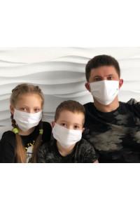 Многоразовые маски тканевые
