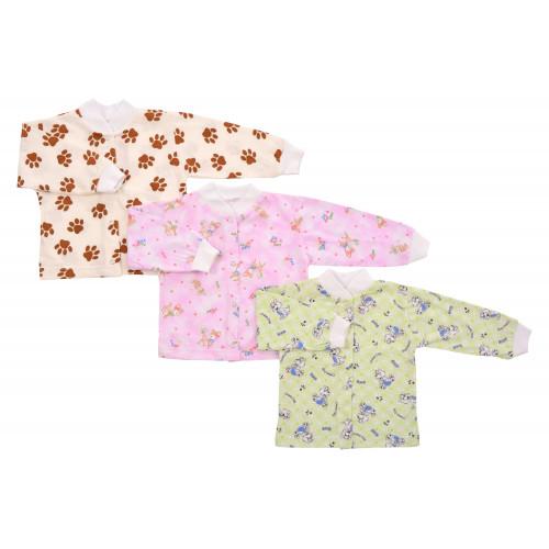 Кофта для новорожденного кулирка длинный рукав