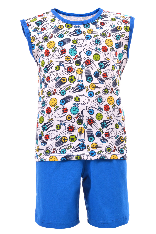Костюм для мальчика, безрукавка с шортами