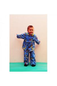 Детская пижама для мальчика футер