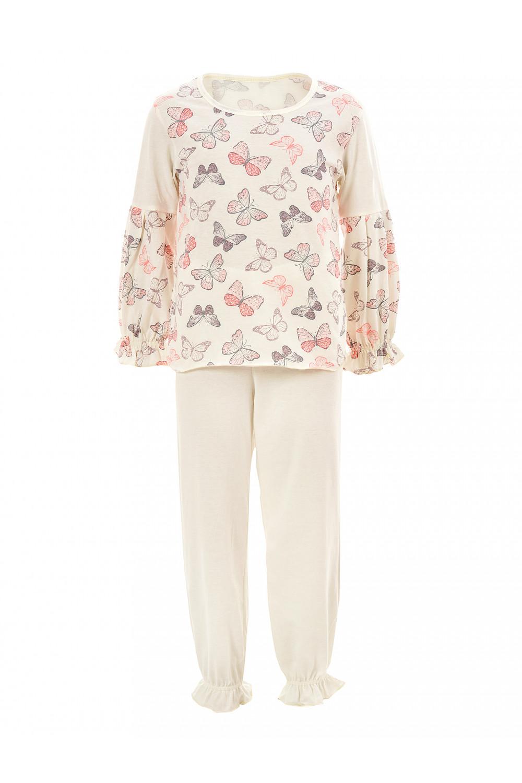 Пижама белоземелька