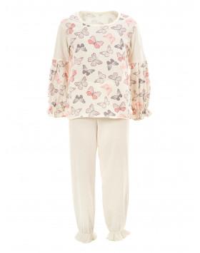 Пижама белоземелька кулир