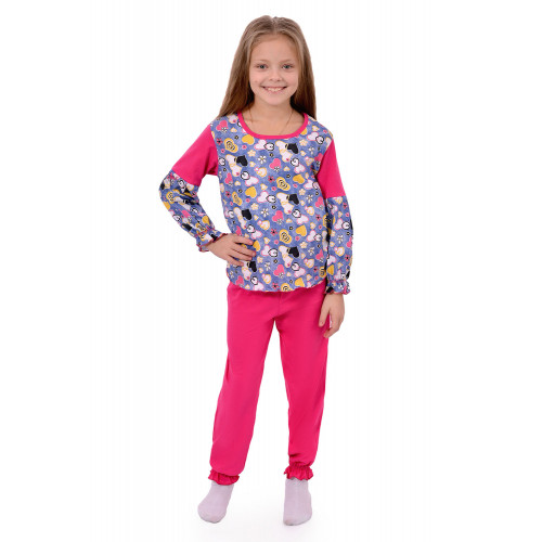 Детская пижама белоземелька