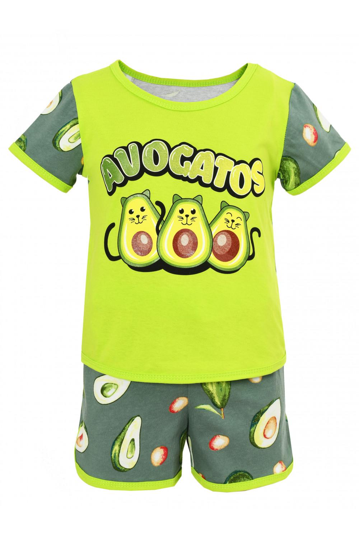 Пижама Ника (авокадо кулир)