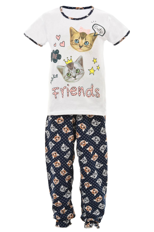 Пижама Котик с брюками