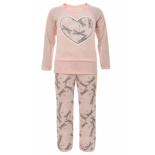 Пижама сердечко для девочки
