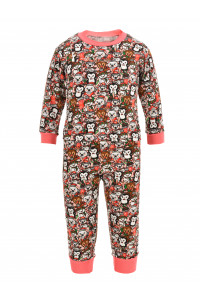 Пижама на манжетах из футера в ассортименте