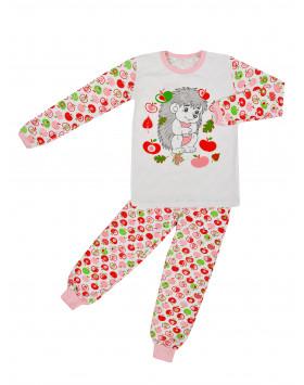 Пижама подростковая для девочки Ежик