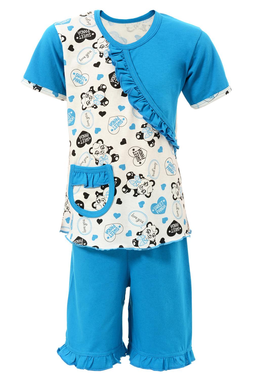 Детская пижама Рюша короткий рукав