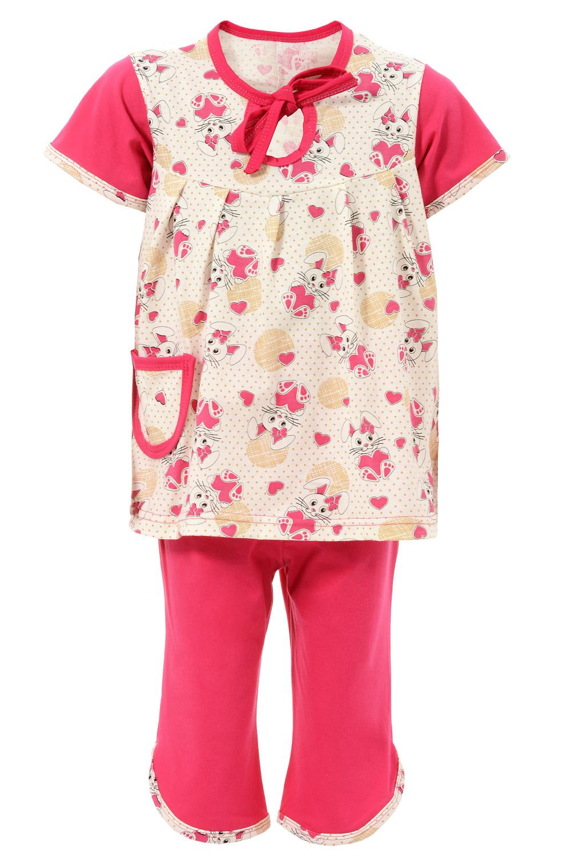 Детская пижама Капелька кулирка короткий рукав