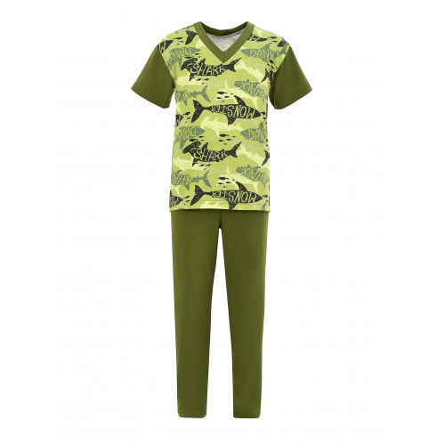 Пижама Уголок для мальчика кулирка