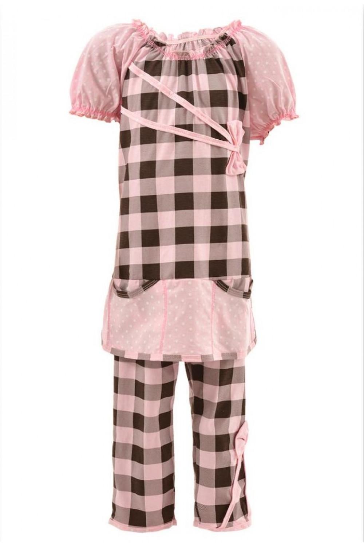 Пижама для девочек кулир