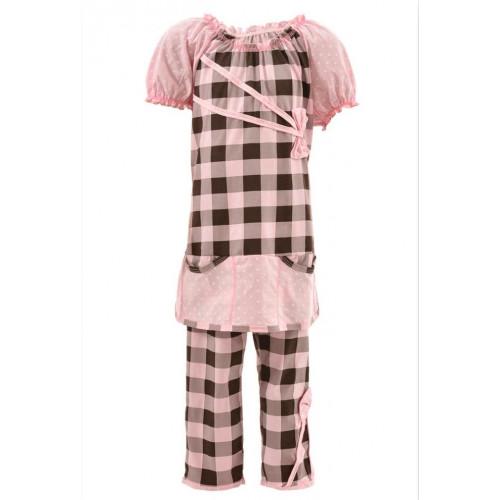Пижама подростковая для девочек кулир