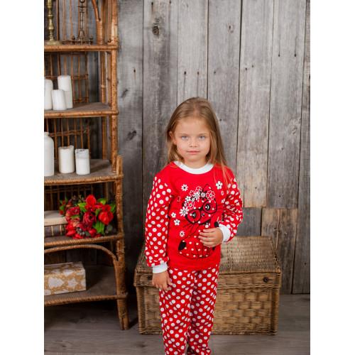 Пижама Боня для девочки кулирка
