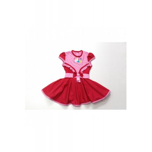 Платье для девочки кулирка Бант