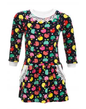 Платье Сова интерлок