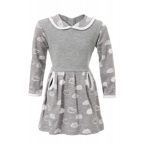 """Платье для девочки """"Капелька"""" интерлок"""