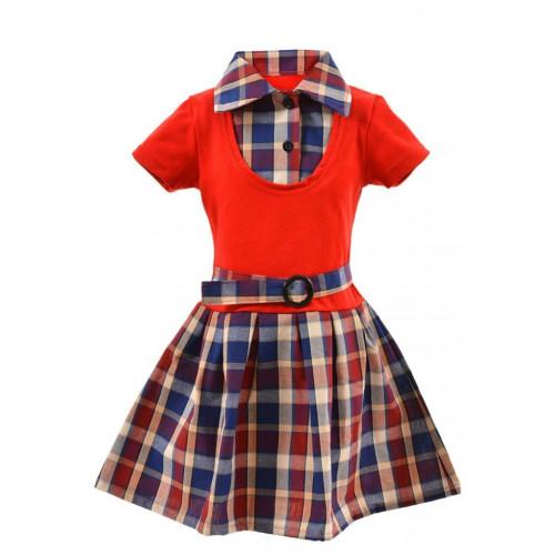 Платье с пряжкой