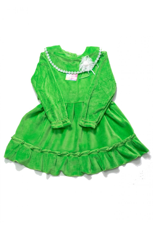 Детское платье велюр